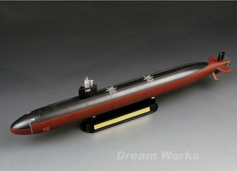 Award Winner Built Trumpeter 1 350 USS Miami (SSN-755) Los Angeles Class