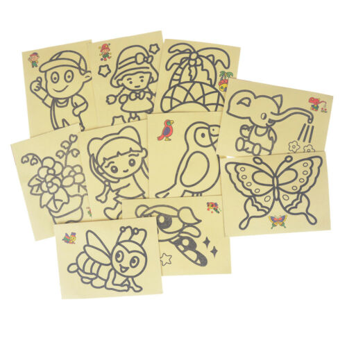 Toys Games Creative Toys Activities 10pcs Lot Children Drawing Sand Painting Pictures Kid Diy Crafts Education Ttsg Toys Games Ojas Co Th