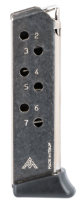 MEC-GAR MGWPPKSFR  Walther PPK//S .380ACP 7 Round Magazine  BLUE
