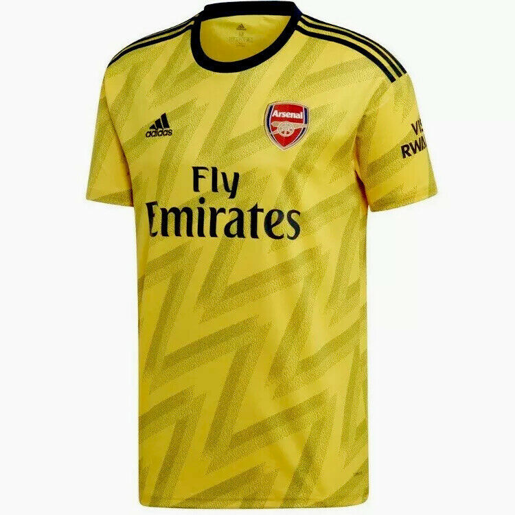 Adidas Men's Arsenal FC Away Jersey 2019-20 (Small) - Yellow for ...