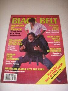 BLACK BELT Magazine, OCTOBER 1986, TADASHI YAMASHITA Photo ...
