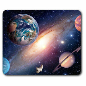 Computer-Mouse-Mat-Solar-System-Space-Galaxy-Office-Gift-14405
