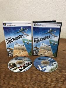 Pc-Microsoft-Flight-Simulator-X-W-Cd-Key-No-Manual-In-Case