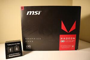AMD Radeon Rx Vega 56 Air Boost 8GB Graphics Card OC Edition (MSI)