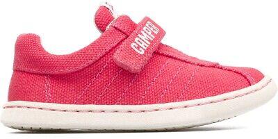 Camper Kids Uno girl/'s pink canvas shoe K800083