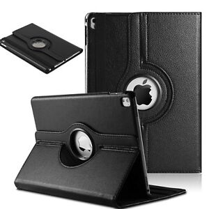 360-Rotating-Smart-Case-Leather-Cover-For-Apple-iPad-9-7-034-2018-6th-Generation