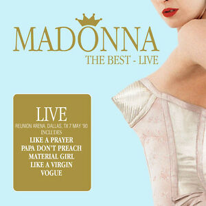 MADONNA-Reunion-Arena-Dallas-039-90-New-2CD-Sealed-NEW