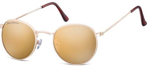 Montana Sonnenbrille 92 in aktueller Pantoform mit Kunststoffgläsern