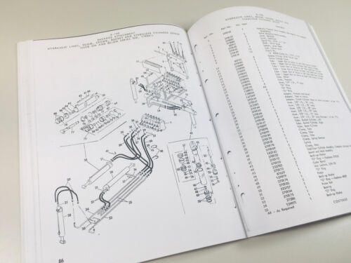 SPERRY NEW HOLLAND L445 UTILITY LOADER SKID STEER SERVICE PARTS CATALOG MANUAL