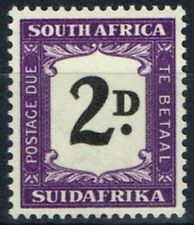 South Africa 1949 2d Black & Violet SGD36 V.F MNH