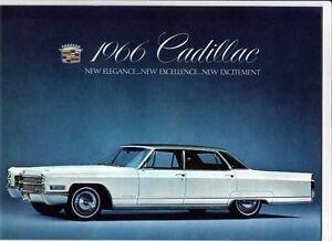 Brochure 1964 Cadillac Dlx Limo Fleetwood Eldorado