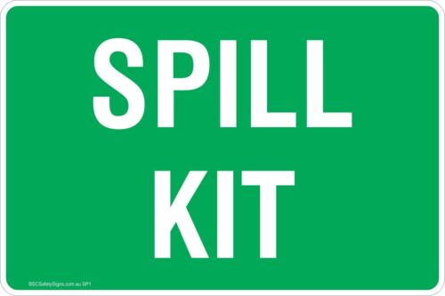 Spill Kit Safety Signs /& Stickers