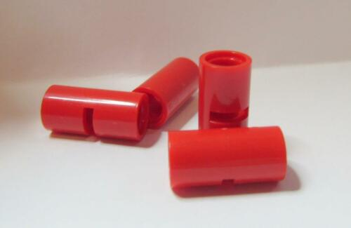 4 Pin Connector Round 2L w Slot 62462 RED Technic LEGO Parts~