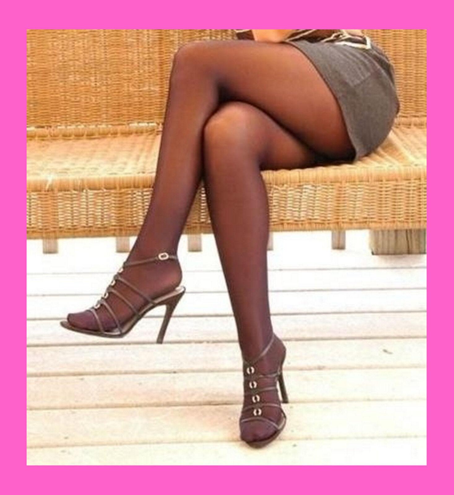 NEU Gr V = 46-48 Strumpfhosen in Übergröße Panty Hose Pantyhose Plussize