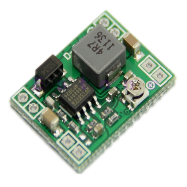 Standard Power Supply Module Adjustable Step-down 3A DC-DC Converter 1pc  New