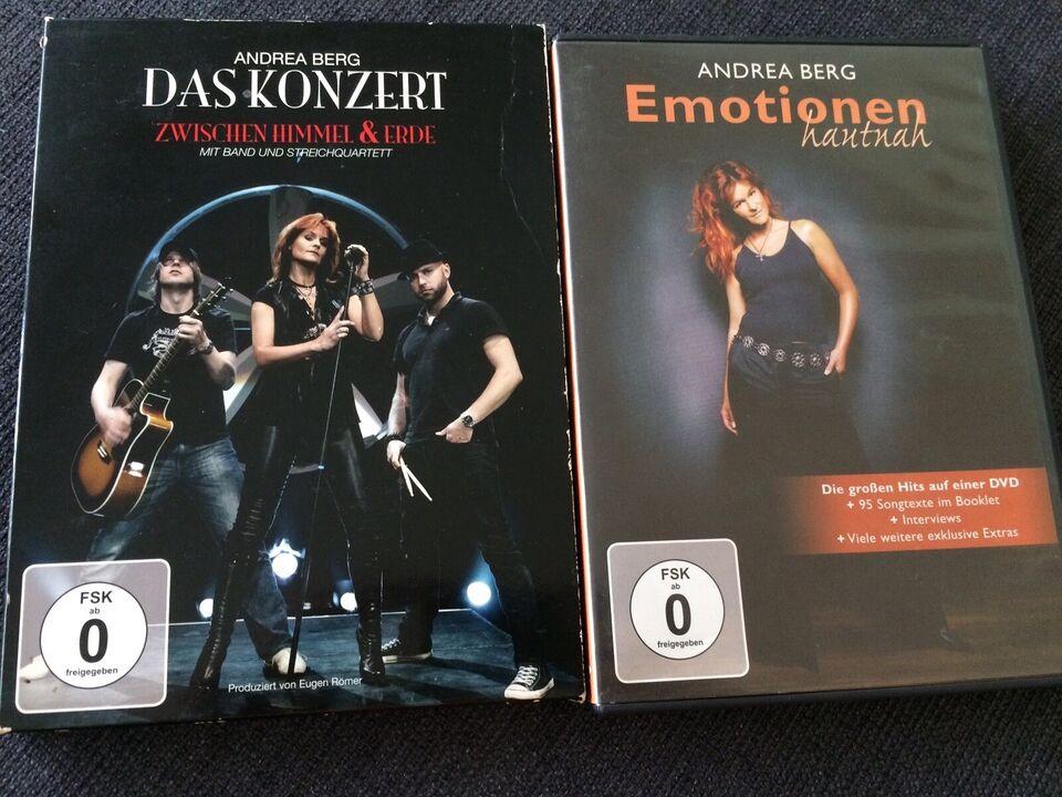 Andrea Berg Live, DVD, musical/dans