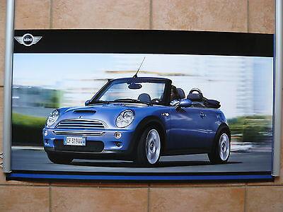 Poster & Bilder Automobilia Gewidmet Mini Cooper S Cabriolet Poster 84 X 46 Cm Plakat