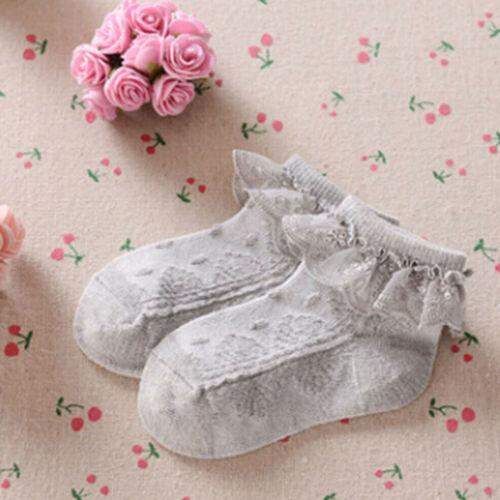 Fashion Baby Girls Cotton Summer Ruffles Socks Set for Newborn Infant Toddlers