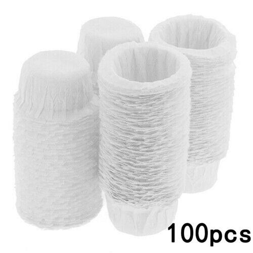 Tea Coffee filters Espresso Makers 100Pcs Disposable Kitchen Bar Parts