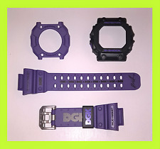 10% OFF CASIO G-SHOCK GX56 DGK GXW56 PURPLE STRAP BAND & BEZEL SHELL CASE COVER