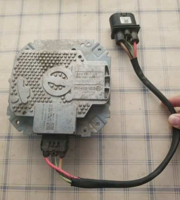 GENUINE 2012-16 AUDI A6 ELECTRIC COOLING FAN MOTOR OEM