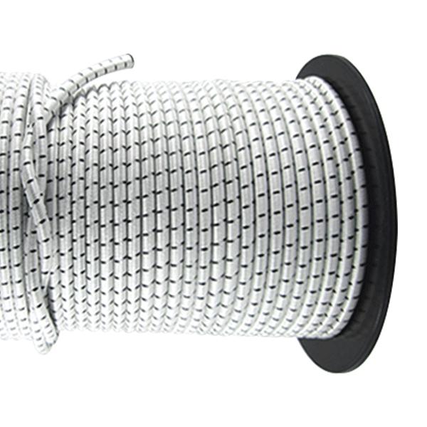20m Gummischnur mit PES Mantel Ø12mm Gummiband Gummiband Ø12mm Tauwerk 53fc27