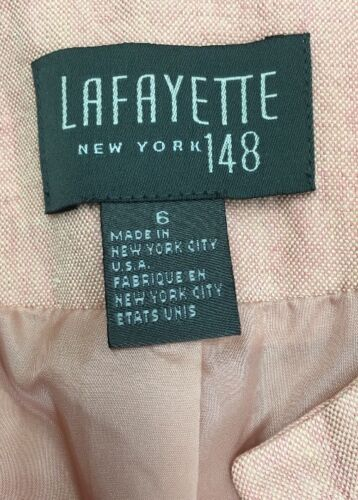 Jakke Made Lafayette 148 New Linen 6 Blazer In York Størrelse q7wR6