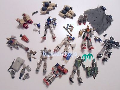 MULTI-LISTING Gundam Mobile Suit Fighter Wing BATTLE SCARRED Action Figures