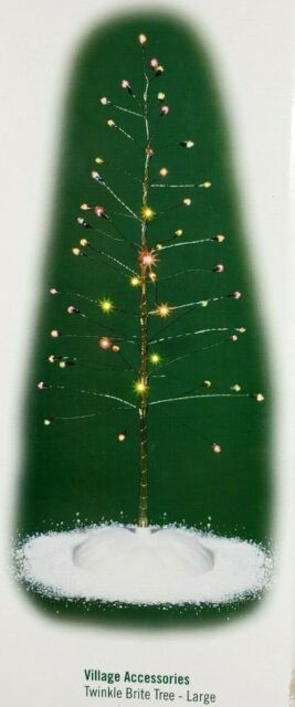 Dept 56 General Village LIT TWINKLE BRITE TREE LARGE 52301 Twinkle Bright