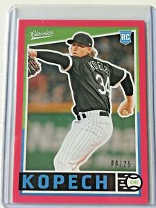 2019-Panini-Chronicles-red-MICHAEL-KOPECH-rc-ed-8-25-Chicago-White-Sox