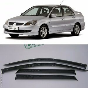 for mitsubishi lancer sd 2003-2006 window visors sun rain guard vent