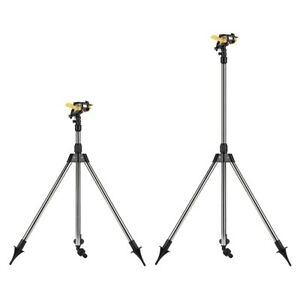Stainless Steel Tripod Water Irrigation Tool Plastic Sprinkler Auto For Home