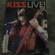 KISS LIVE photo book, Australian print RARE 1996