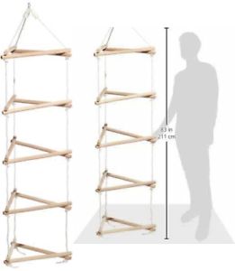 Wooden-3-Sided-Climbing-Frame-Rope-Ladder