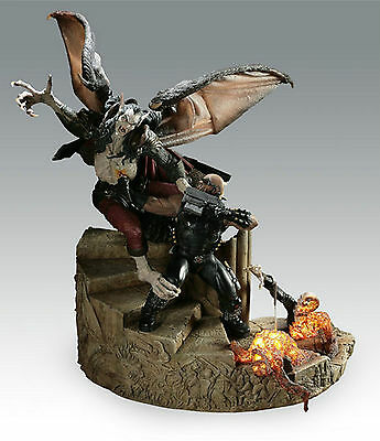 SIDESHOW COLLECTIBLES MARVEL BLADE VS DRACULA RESIN DIORAMA / STATUE
