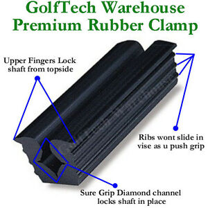 Rubber Vise Clamp Golf Club Tool Regripping Re Shaft Head