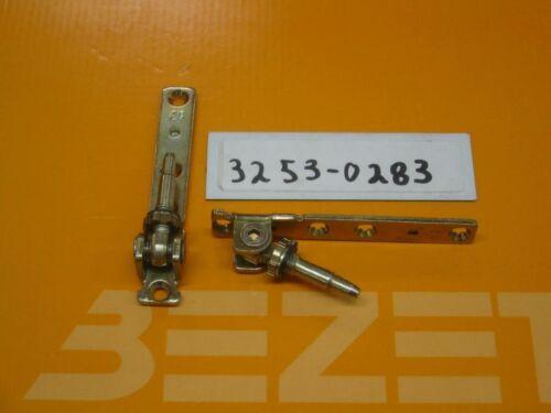 2x AUBI Ecklagerbock EB 330 gelb verzinkt für Dreh Kipp Fenster und Türen
