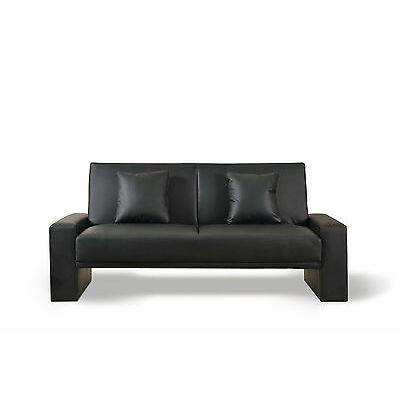 Faux Leather Modern Luxury Sofa Bed - Supra Sofabed - 2/3 Seater Sofa