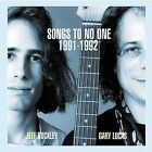 Songs to No One 1991-1992 by Jeff Buckley (CD, Oct-2002, Evolver)