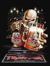 Iron Maiden Eddie The Trooper Beer Bartender Sticker or Magnet