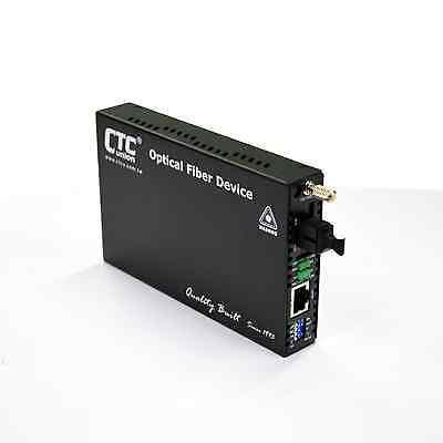 Gigabit Ethernet web managed fiber media converter WDM BiDi type B 20Km LC