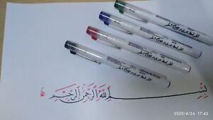 Arabic-calligraphy-marker-Pen-Oblique-Tip-Italic-Manuscript-left-oblique-nib