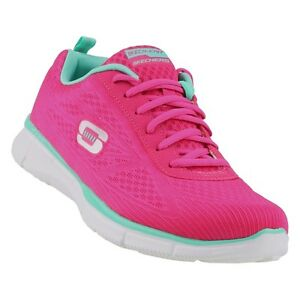 22bc479f7910 Skechers Equalizer True Form Hot Pink Memory Foam Womens Running ...