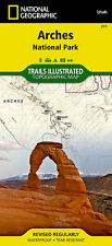 National Geographic Trails Illustrated Map: Arches National Park 211 by National Geographic Maps - Trails Illustrated (2014, Map, Other)