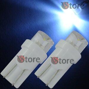 2-Lampade-T10-LED-CONCAVE-BIANCO-Auto-Luci-Per-Targa-Fari-Posizione-12V-360
