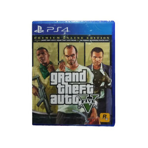 Grand-Theft-Auto-V-GTA-5-Premium-Online-Edition-PS4-2018-Chinese-Factory-Sealed