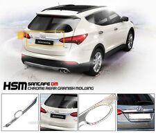 Chrome Trunk Rear Garnish Molding Trim For 2012 2013 2014 Hyundai Santa Fe SPORT