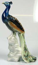 Pfau Vogel porzellanfigur Vogelfigur gemarkt porzellan figur b