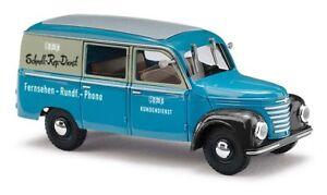 Busch-51277-Barkas-Framo-V901-2-Van-RFT-TV-Car-Model-1-87-H0