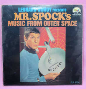 Leonard-Nimoy-Presents-Mr-Spock-039-s-Music-From-Outer-Space-VINYL-RECORD-LP